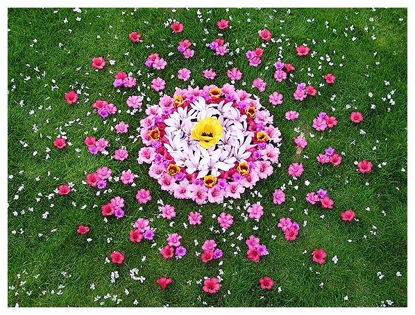 earthereal art visionary environmental botanical mandala natural nature water prayer