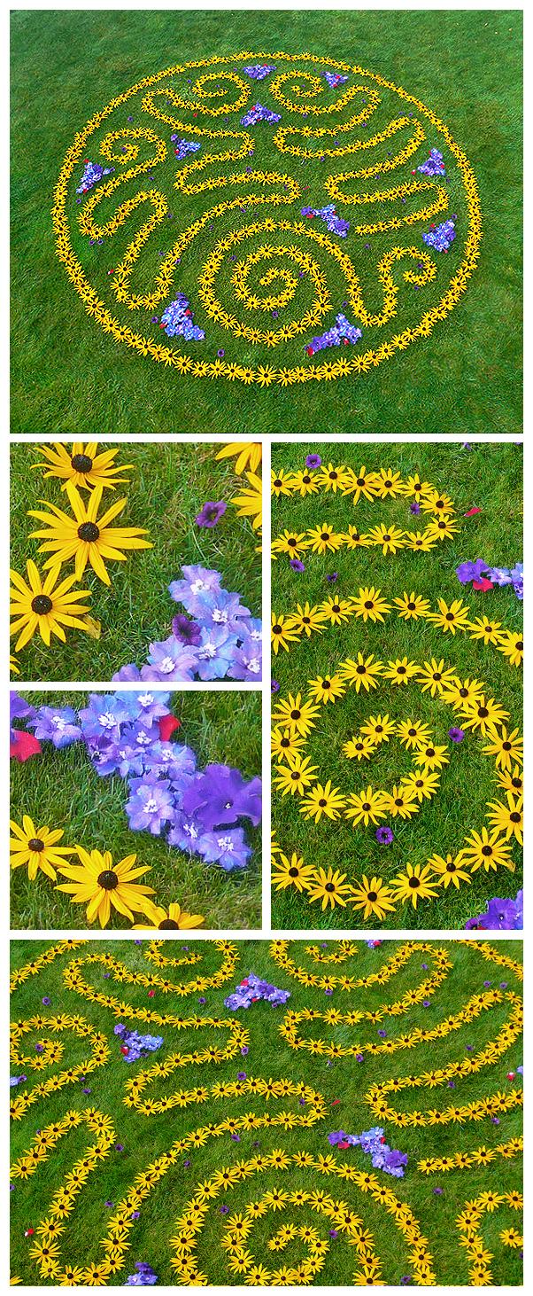 earthwork environmental nature earthereal natural art botanical healing glyph mandala