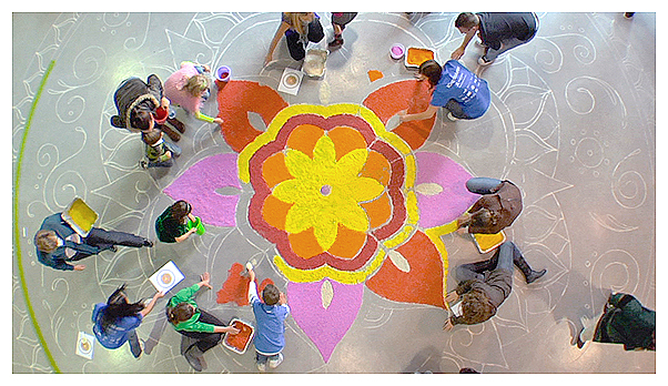 Vancouver Diwali Vandiwali Indian Hindu New Year rangoli kolam lakshmi Celebration Society