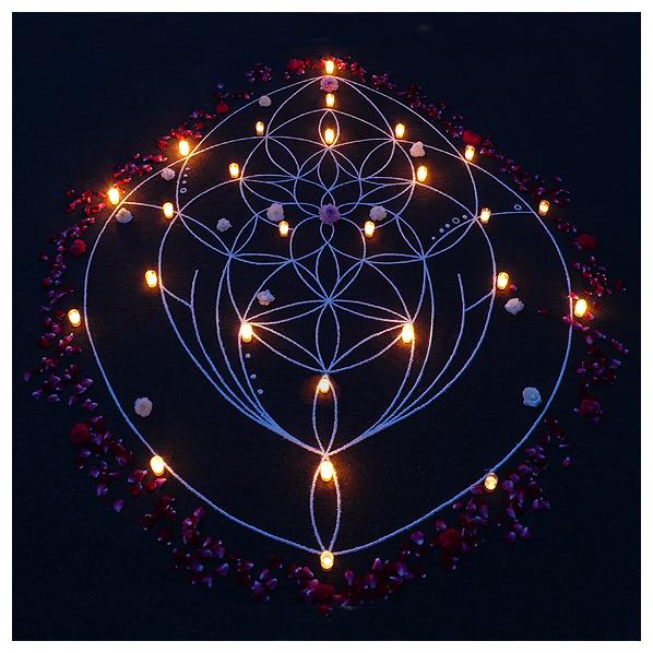 whitney krueger feminine flow geometry visionary language of light sacred celestial art kolam rangoli