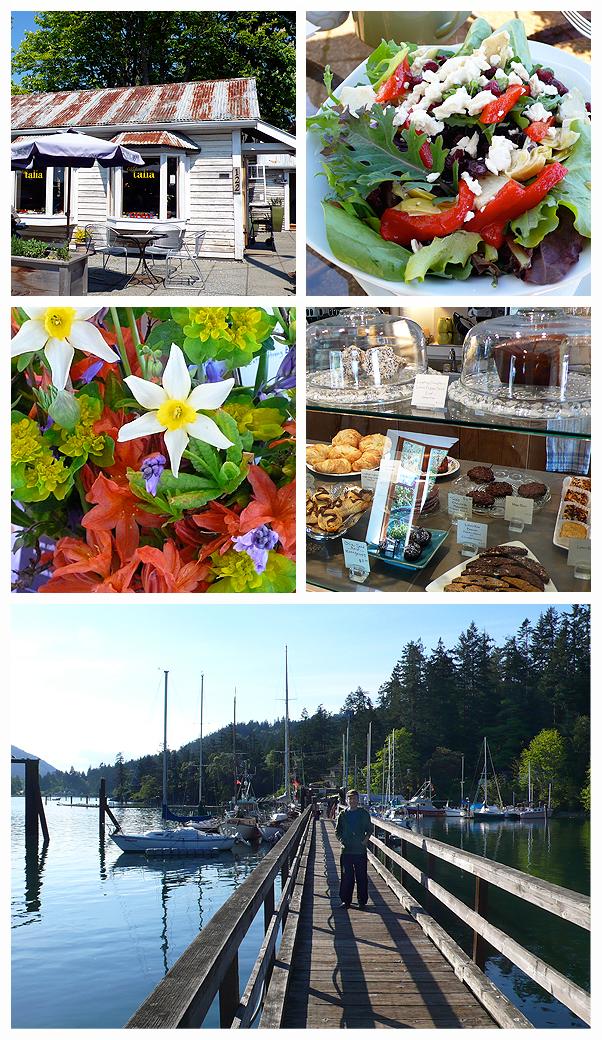 Salt Spring Island British Columbia Canada Talia Burgoyne Bay