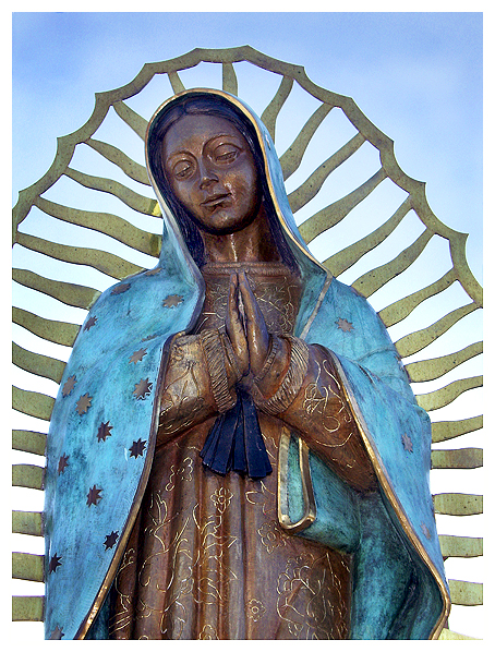 Holy Rosary Walk, New Mexico, Our Lady, Santa Fe, Santuario de Guadalupe, Shrine