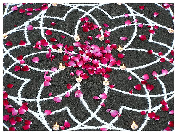 divine design kolam rangoli sacred art house blessing
