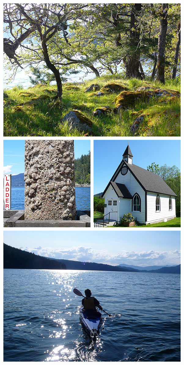 Salt Spring Island British Columbia Canada selkie circle Talia Burgoyne Bay